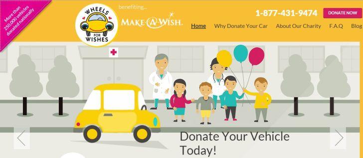 Make a Wish Car Donation
