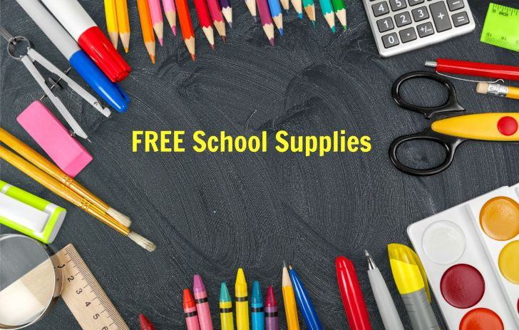 Free School Supplies by Mail