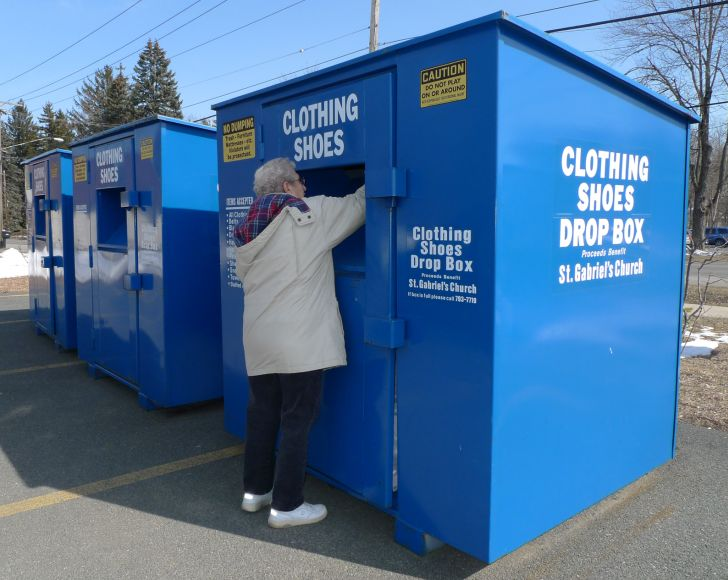 Clothes Donation Drop Off