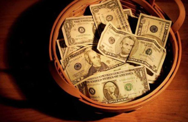 Philanthropist Giving Away Money