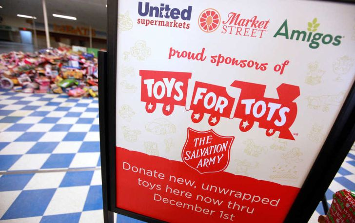 Salvation Army Toys For Tots & Organizations For Free Christmas Gifts