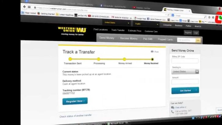 western union money tracking