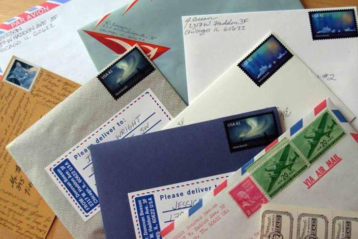 Large Envelope And International Letter