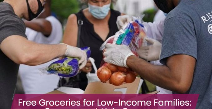 Free Groceries for Low-Income Families: Government Help Programs