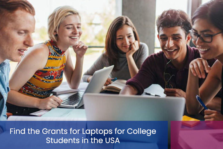 grants for laptops for college students