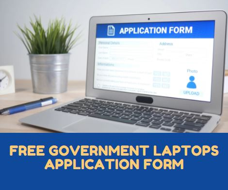 free government laptops application form