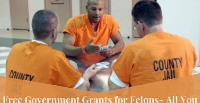 Free Government Grants for Felons- All You Need To Know About!