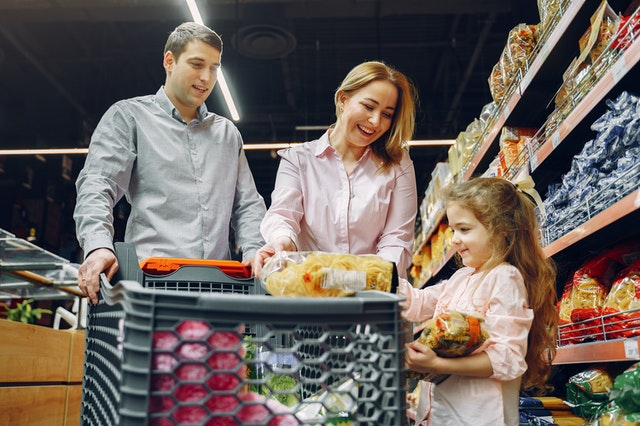free groceries for low-income families