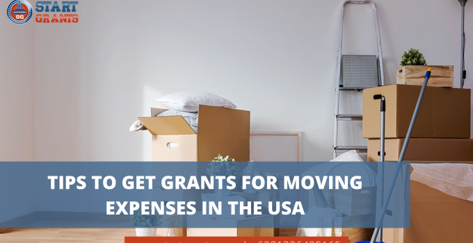 Tips to Get Grants for Moving Expenses in the USA